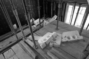 Casa unifamiliare in cemento in cassero